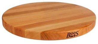 John Boos & Co.® Edge-Grain Round Cherry Cutting Board