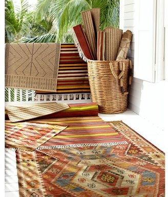 Pottery Barn Ames Stripe Recycled Yarn Indoor/Outdoor Rug