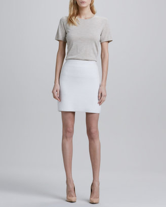 Theory Holleen Ridged Pencil Skirt