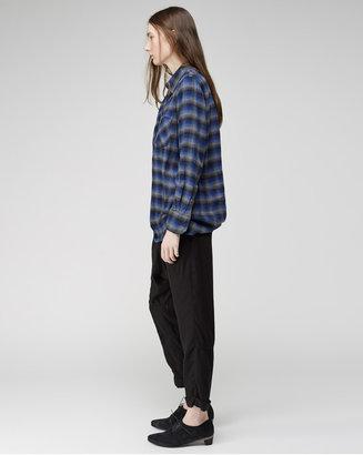 Zucca ombre check shirt