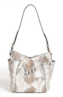Jimmy Choo 'Anna' Genuine Python Shoulder Bag