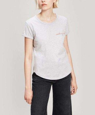 Maison Labiche Working Girl Embroidered Cotton T-Shirt