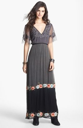 Free People 'Midnight in the Garden' Maxi Dress