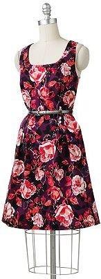 Apt. 9 floral pleated dress