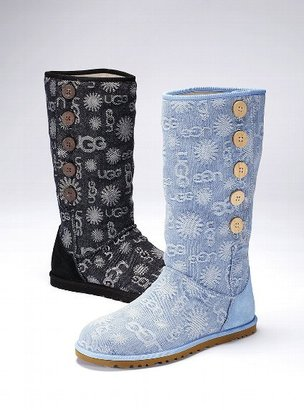 UGG Lo Pro Denim Jacquard Boot
