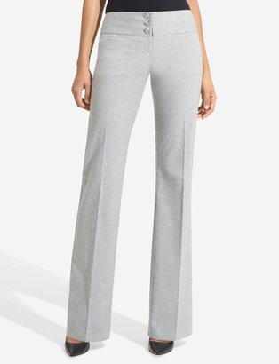 The Limited Cassidy Banded-Waist Classic Flare Pants