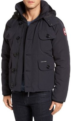 Men's Canada Goose 'Selkirk' Slim Fit Water Resistant Down Parka With Detachable Hood $750 thestylecure.com