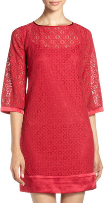 Laundry by Shelli Segal Lace Shift Dress, Rouge