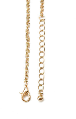 Forever 21 Faux Stone Deco Necklace