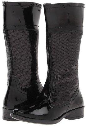 Primigi Exeter 1 FA13 (Little Kid) (Black/Black) - Footwear