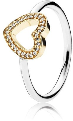 Pandora Design Ring - Sterling Silver & Cubic Zirconia Symbol of Love