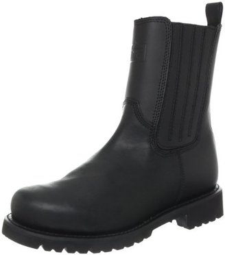 Bates Footwear Ridge Footwear Men's All Leather Side Zip Motorcycle Boot