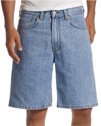 Levi's Men's 550 Relaxed-Fit Light-Stonewash Denim Shorts
