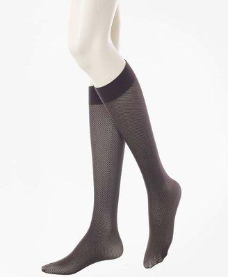 Brooks Brothers Exploded Herringbone Trouser Socks