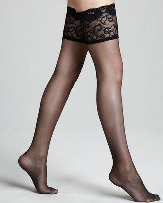 La Perla Allure Stay-Up Stockings