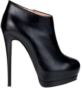 Giuseppe Zanotti Double platform leather bootie