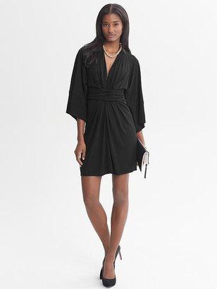 Issa Collection Black Kimono Dress