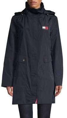 Tommy Hilfiger Packable Princess Seam Jacket