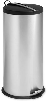 Honey-Can-Do 30L Steel Trash Can + Bucket