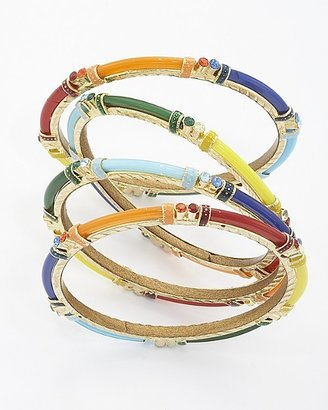 Chamak by Priya Kakkar Resin and Enamel Bangle Set