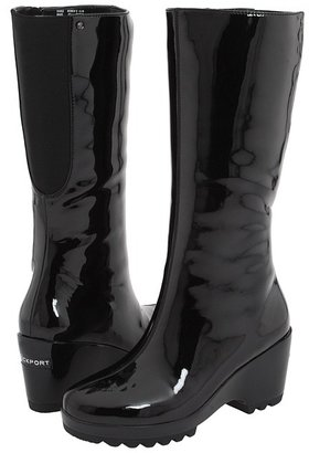 Rockport Lorraine Rainboot (Jet Black) - Footwear
