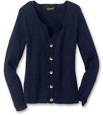 Eddie Bauer Refined Mini Cable Cardigan Sweater