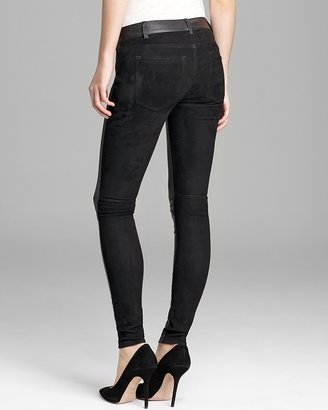 Vince Pants - Mixed Leather