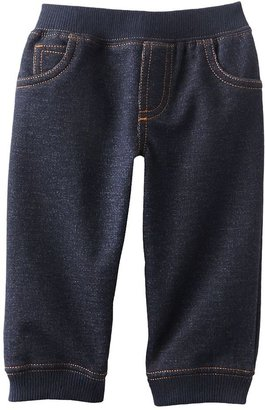 Carter's faux-denim pants - baby