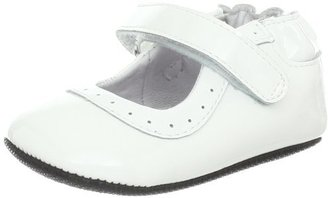 Robeez Gracie White Mini Flat (Infant)
