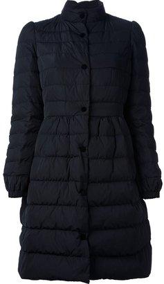RED Valentino flared padded jacket