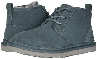 UGG Neumel (Black Suede) Men's Lace up casual Shoes
