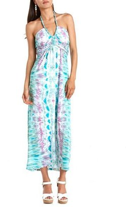 Charlotte Russe Braided Halter Maxi Dress