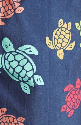 Vilebrequin 'Moorea' Turtle Print Swim Trunks
