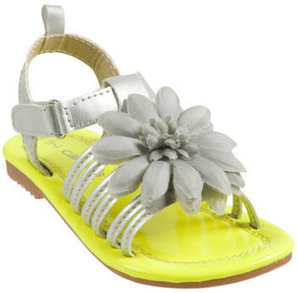 Carter's Strappy Sandal with Flower
