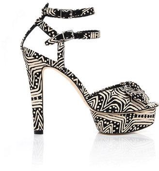 Loeffler Randall Dahlia platform sandal