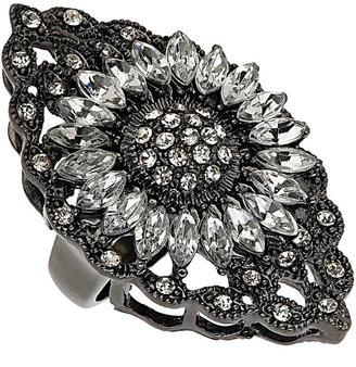 Topshop Filigree Flower Cocktail Ring