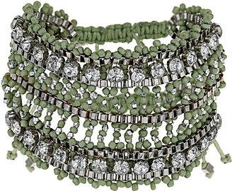 Topshop Bead Rhinestone Bracelet