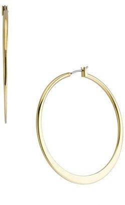 Women's Nordstrom Tapered Hoop Earrings $26 thestylecure.com