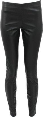 LA MARQUE Stretch Leather Legging Pant