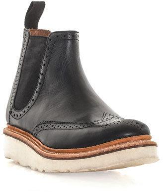 Grenson Alice vibram brogue Chelsea boots