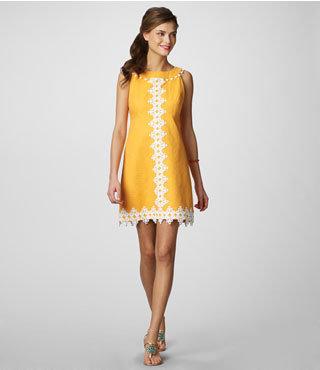 Lilly Pulitzer Jacqueline Dress Novelty Lace
