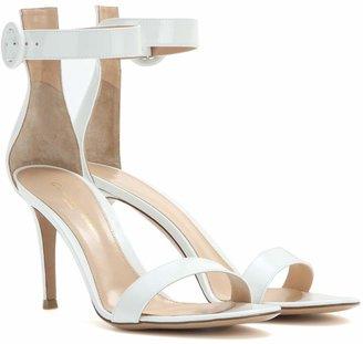 Gianvito Rossi Exclusive to Mytheresa Portofino patent leather sandals