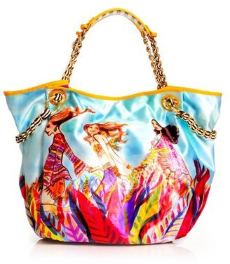 Henri Bendel Boho Babes Graphic Shopper