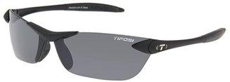 Tifosi Optics Seektm (Matte Black/Smoke GG Lens) Athletic Performance Sport Sunglasses