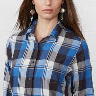 Denim & Supply Ralph Lauren Plaid Cal Tomboy Shirt