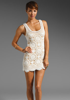Eternal Sunshine Creations Wildflower Tank Mini Dress