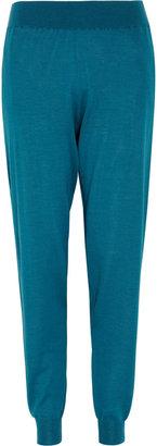 Stella McCartney Wool-blend tapered pants
