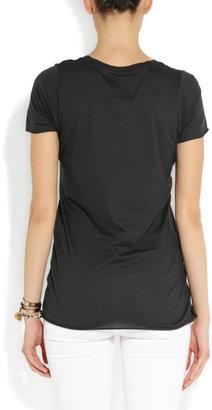 Zoe Karssen New York Girls cotton and modal-blend T-shirt