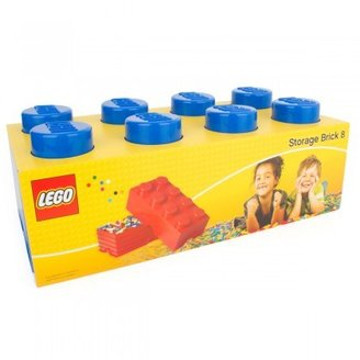 Lego Accessories Dark blue eight brick storage box