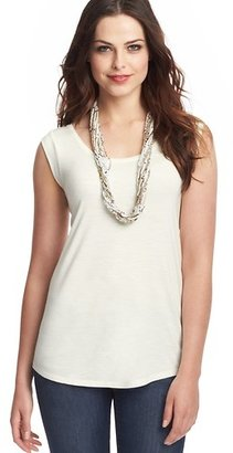 LOFT Ruched Shoulder Tank